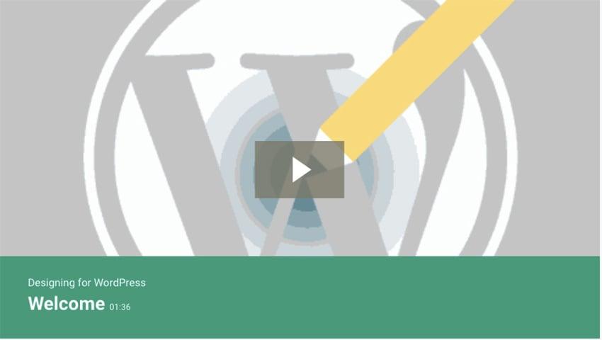 Designing for WordPress
