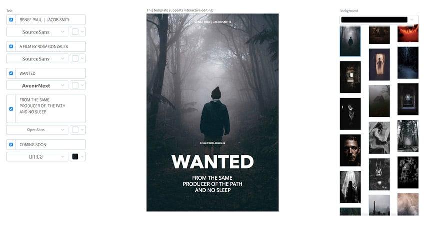 Movie Poster Drama