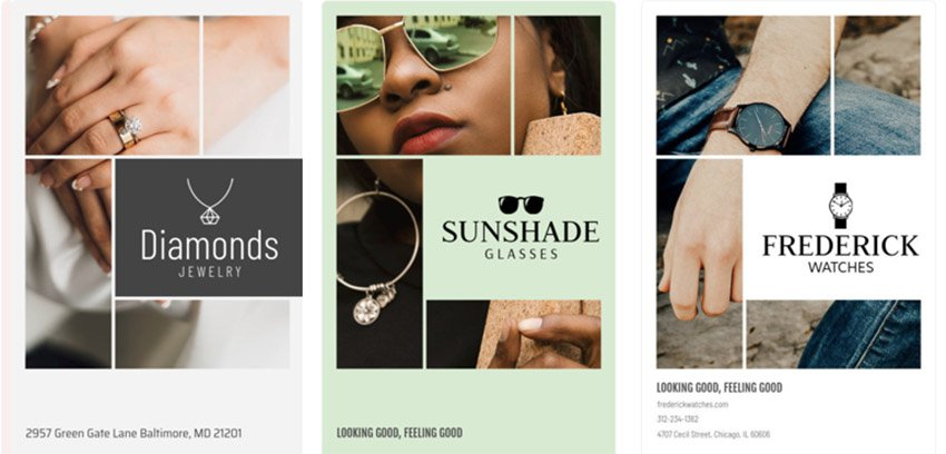 Jewelry Store Flyer Design Template