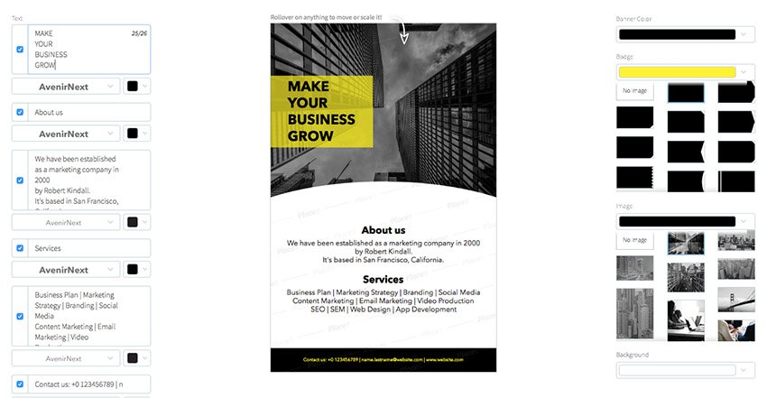 Online Flyer Maker for Corporate Events