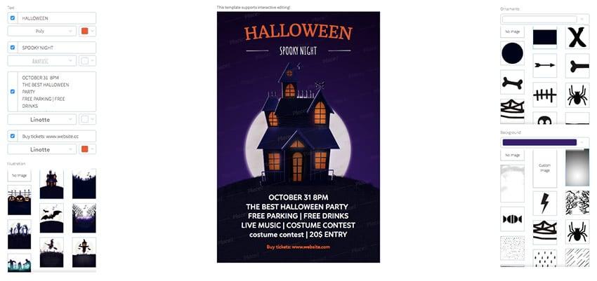 Design Halloween Party Flyers