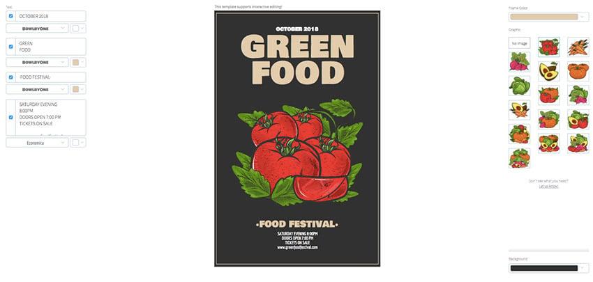 Food Festival Flyer Template
