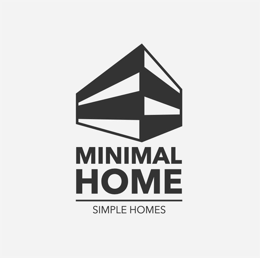 Minimalist Logo Design Real Estate