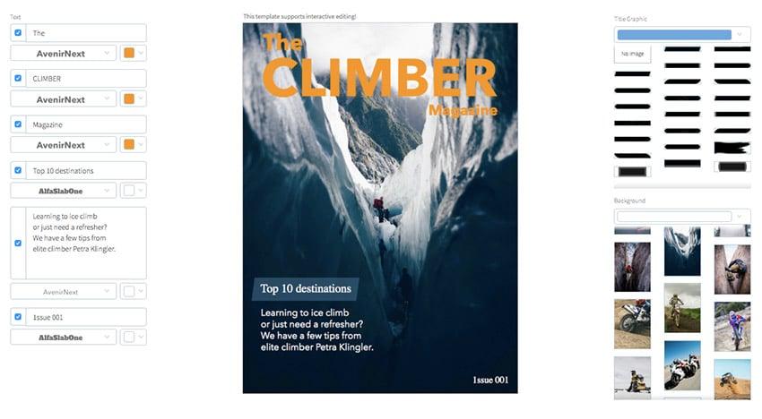 Climbing Magazine Cover