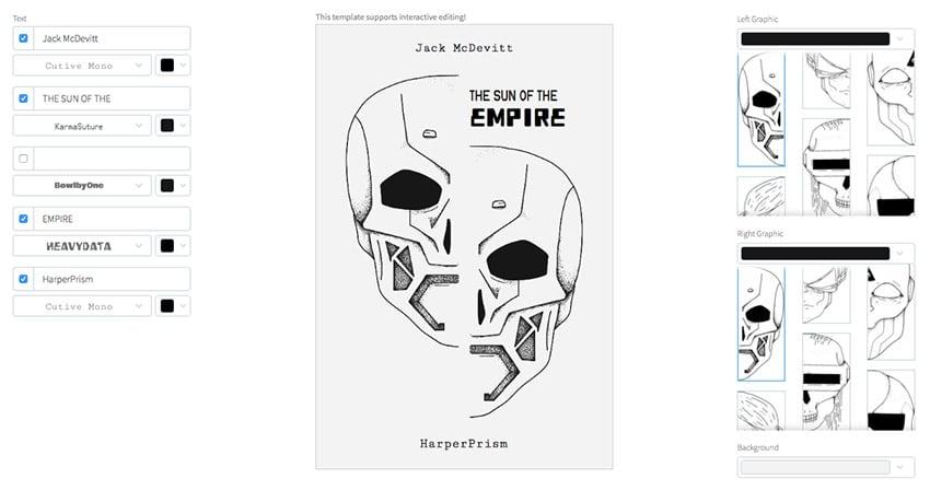 Sci-Fi Book Cover Template