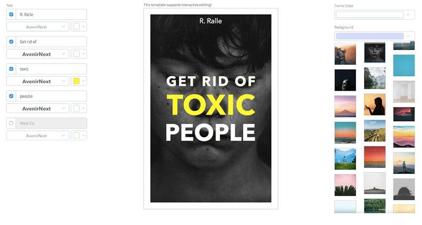 Book Cover Creator for Self-Esteem Books