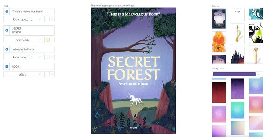 Fantasy Book Cover Generator