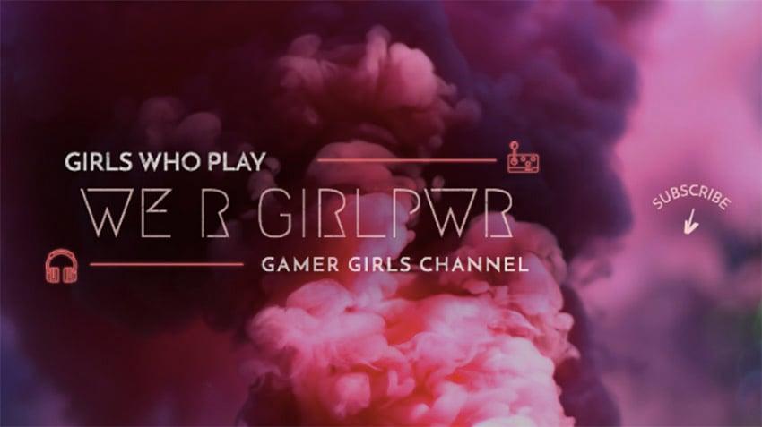 YouTube Banner Maker for Gamer Girls