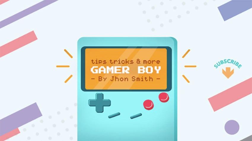 YouTube Channel Banner Maker for Cool Gamer