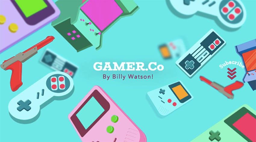 YouTube Gamer Company Channel Banner Maker