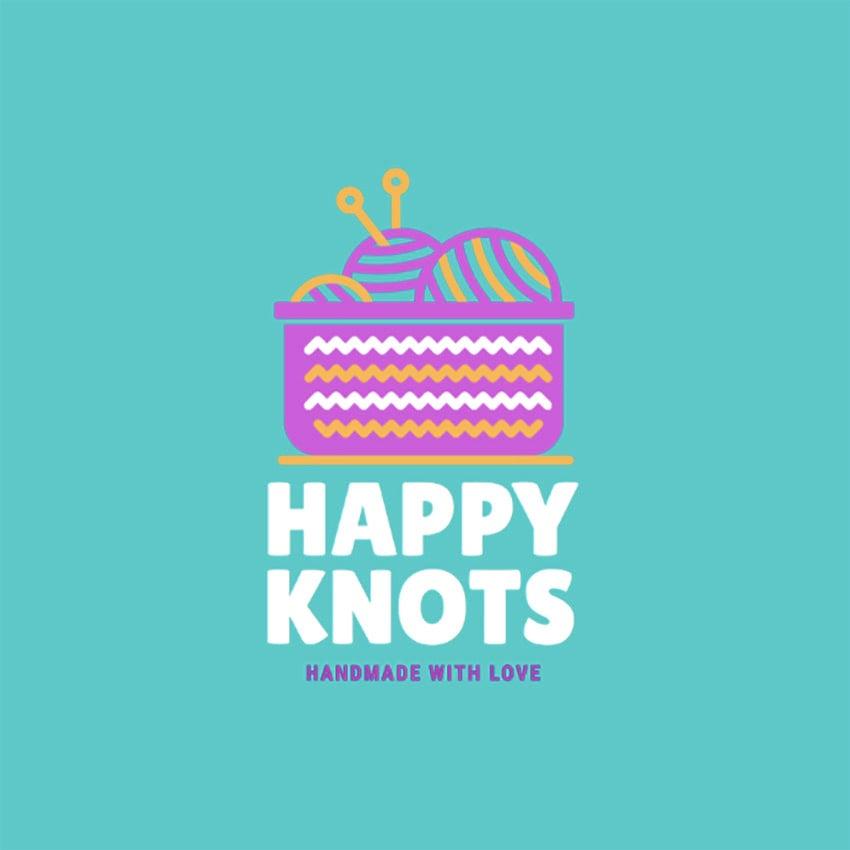 Handmade Knits Logo Maker