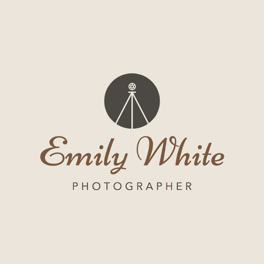 Logo Maker to Design a Photography Logo