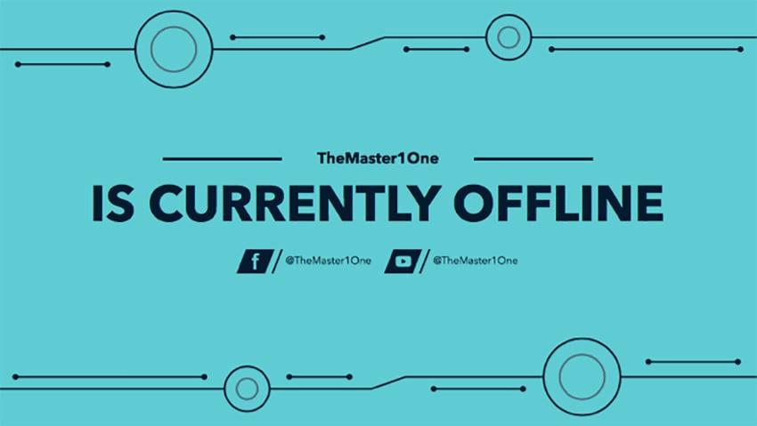 Twitch Offline Banner Maker for a Minimalist Twitch Account