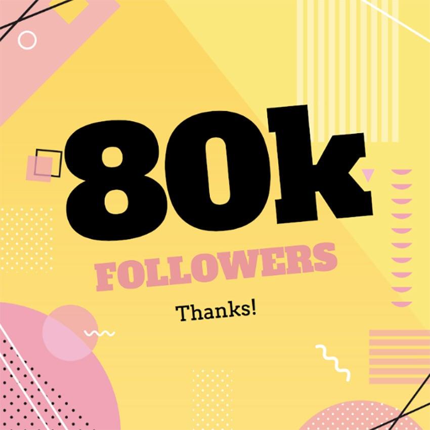Followers Number Landmark Post Maker for Instagram