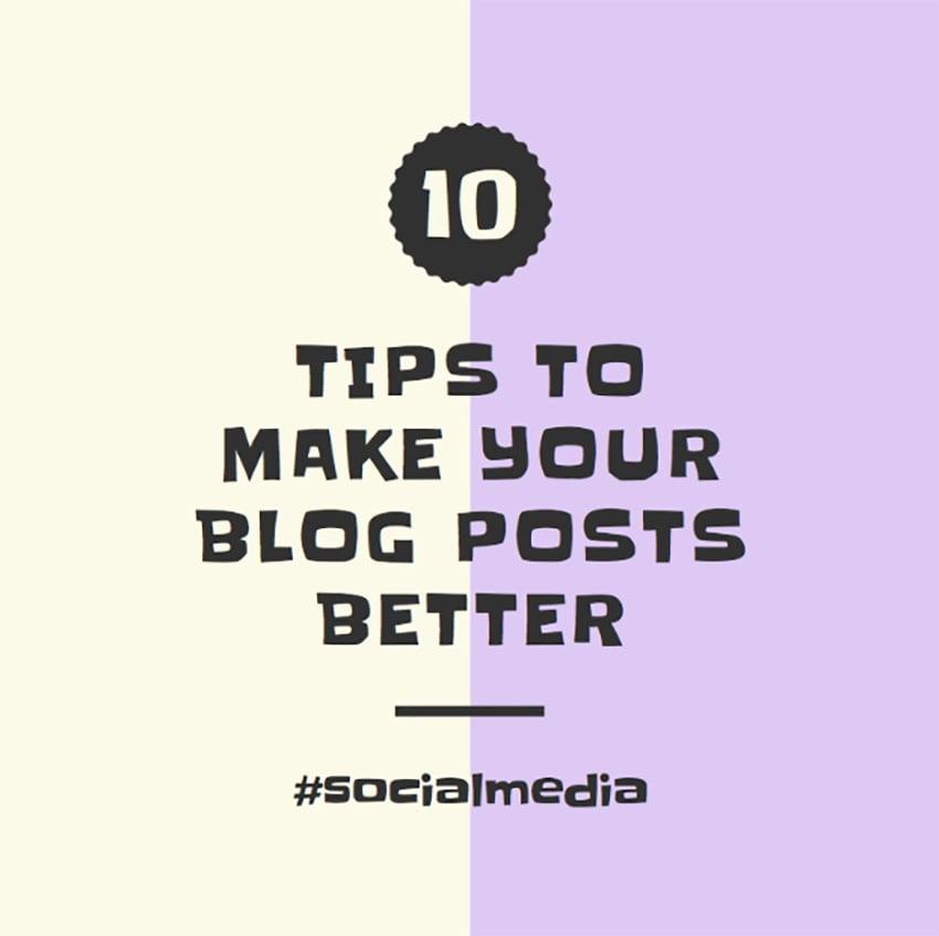 Instagram Post Template for Blog Tips