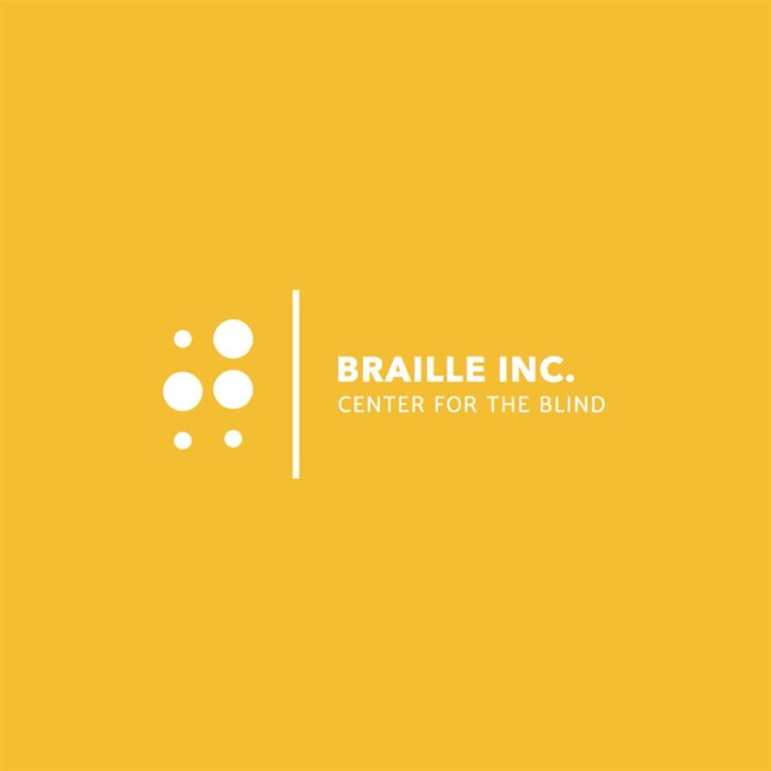 Logo Design Template for Braille Learning Center