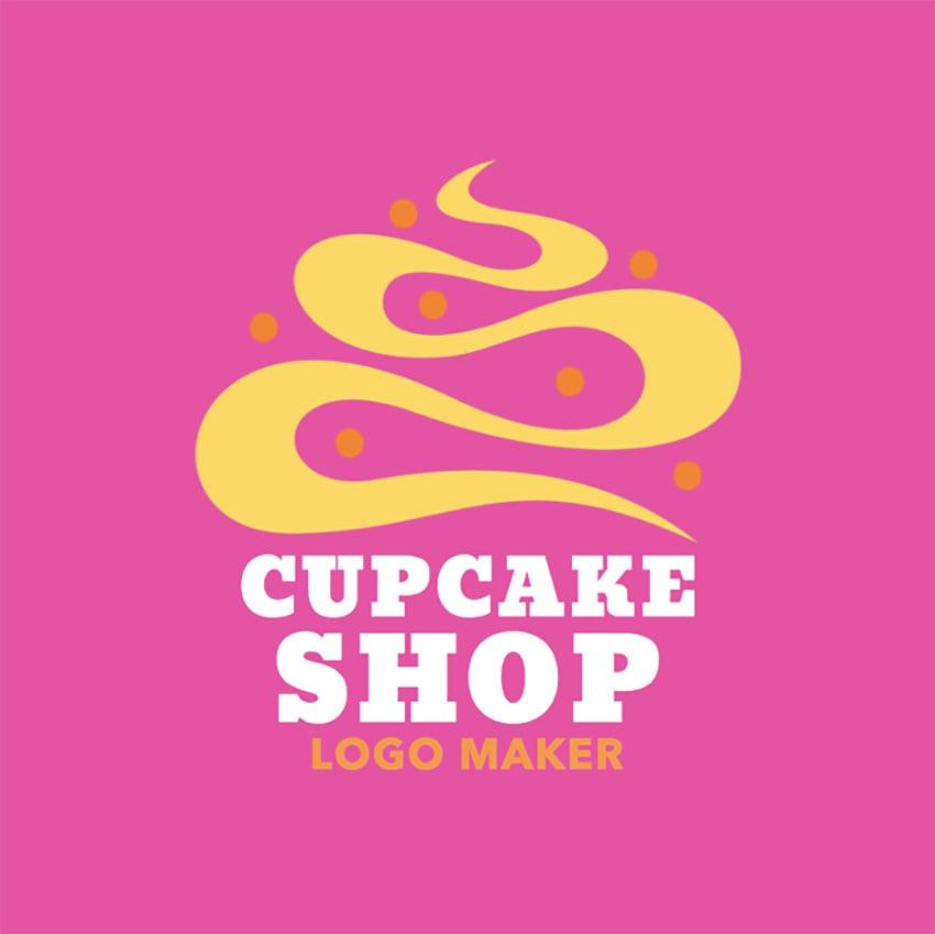 Logo Maker to Design a Cupcake Logo