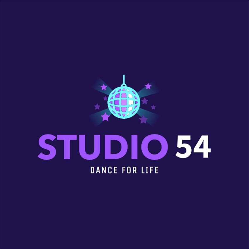 Online Logo Maker for Dance Schools