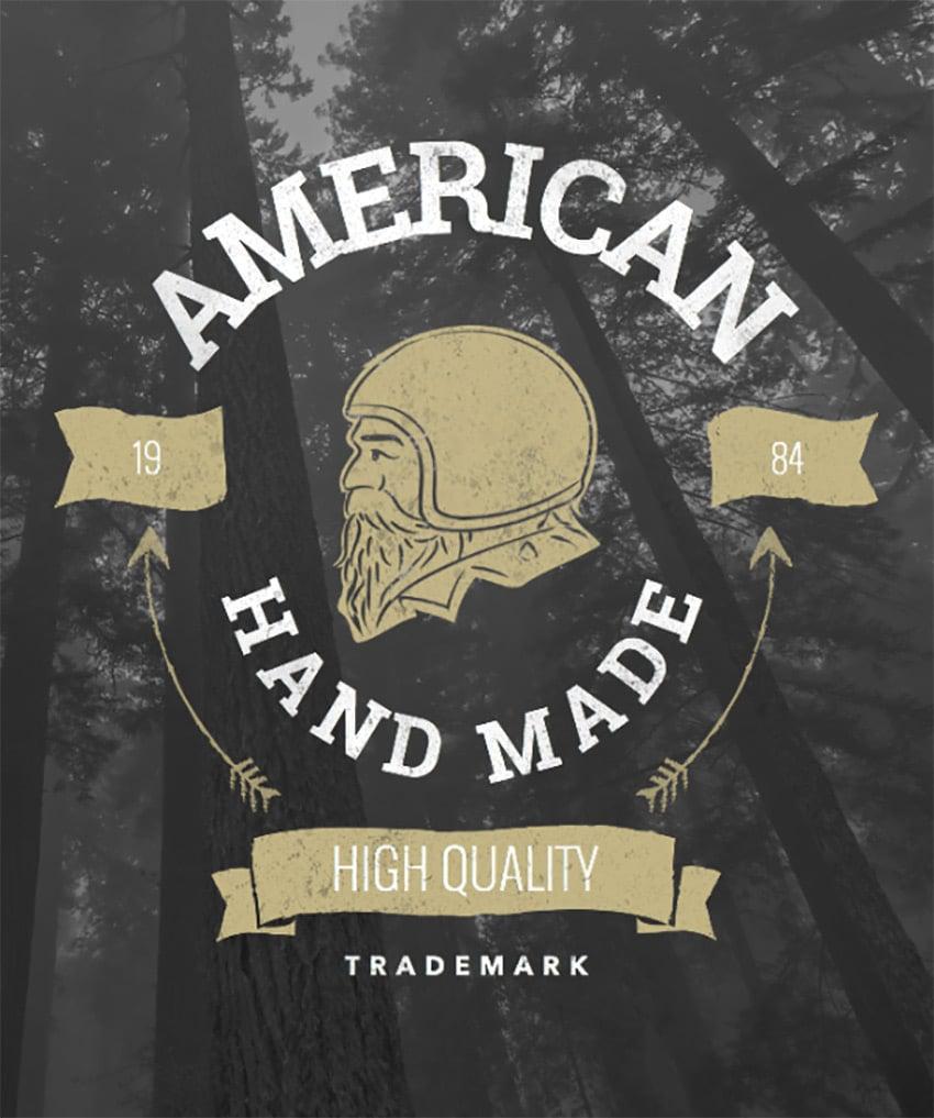 Vintage Badge Maker for Tshirts