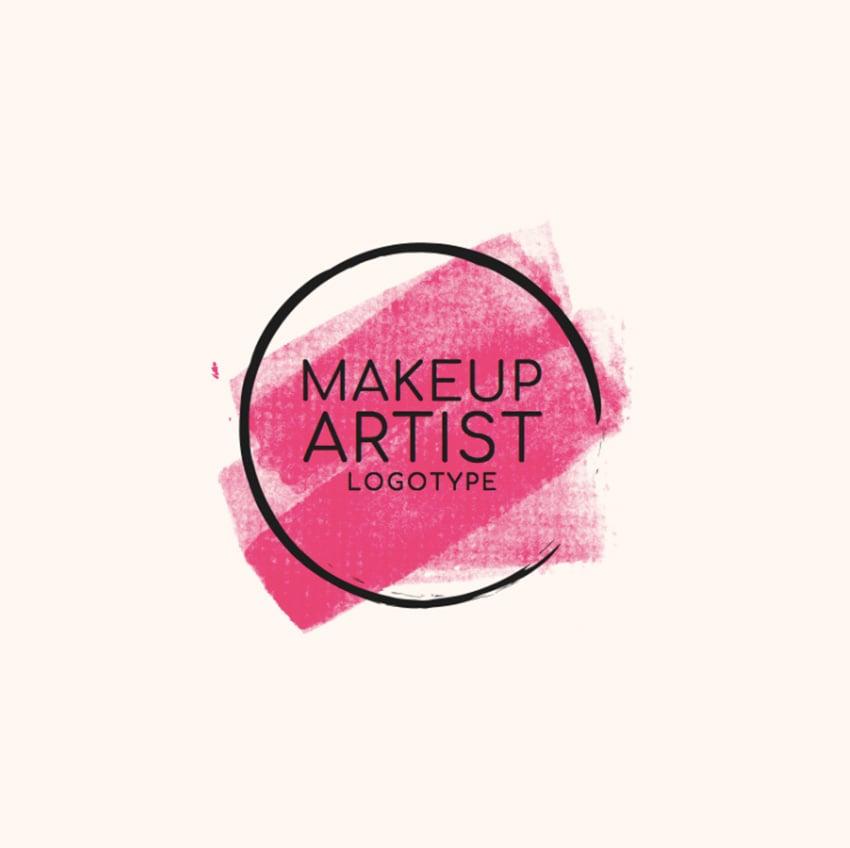 Beauty Logo Template to Create a Makeup Artist Logo