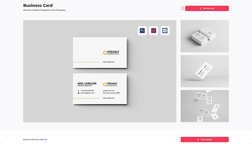 Download the template you want from Envato Elements