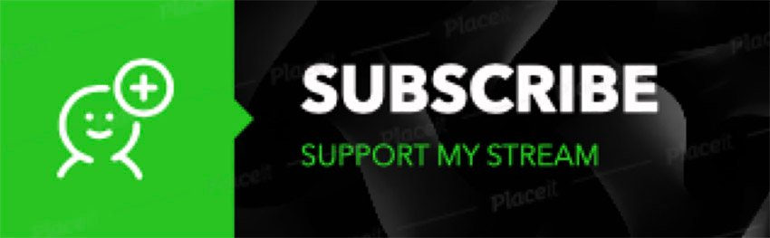 Twitch Subscribe Panel Templates