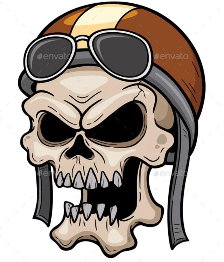 Pilot Skull