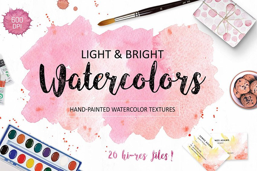 Just one of the 32 best digital scrapbook papers available at Envato Elements
