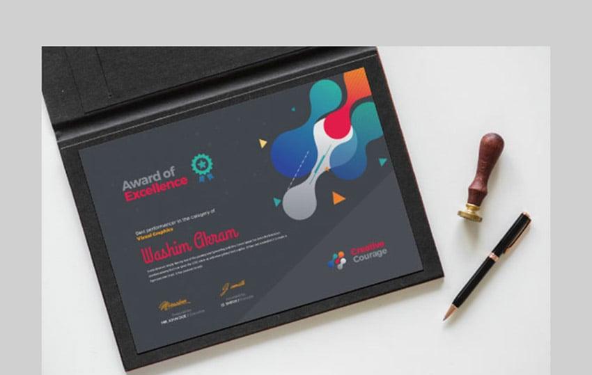 Creative Certificate Design