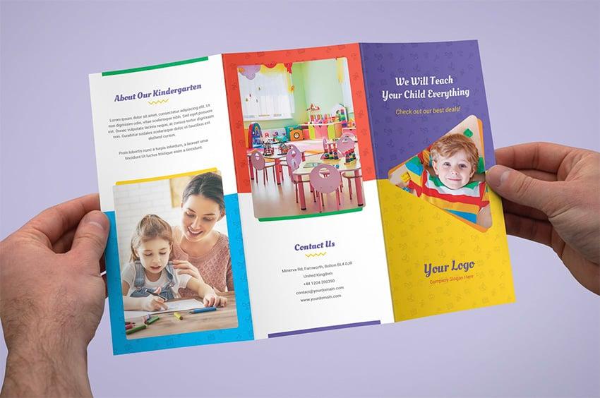 Brochure  Kindergarten Tri-Fold