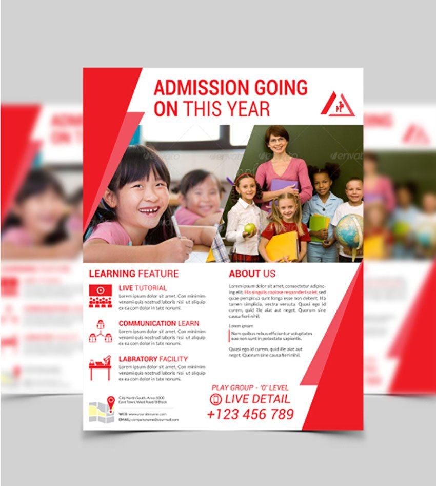 Education  School Flyer