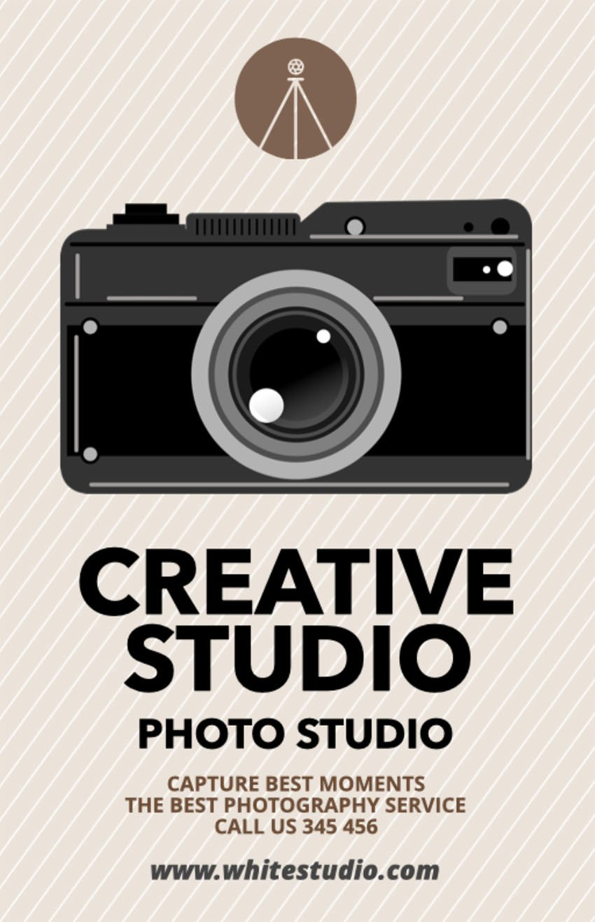 Creative Flyer Maker for Photographers