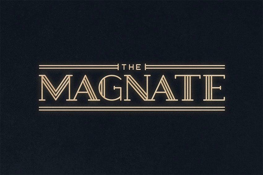 Magnate Typeface
