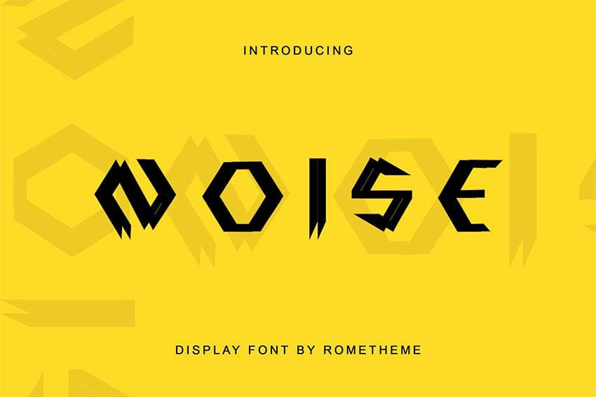 Futuristic fonts