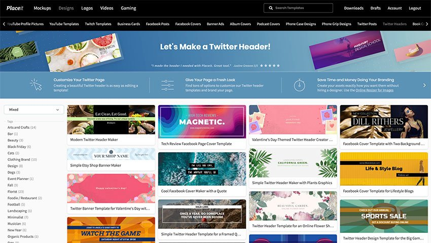 How to Make Cool Twitter Headers using a Twitter Header Maker
