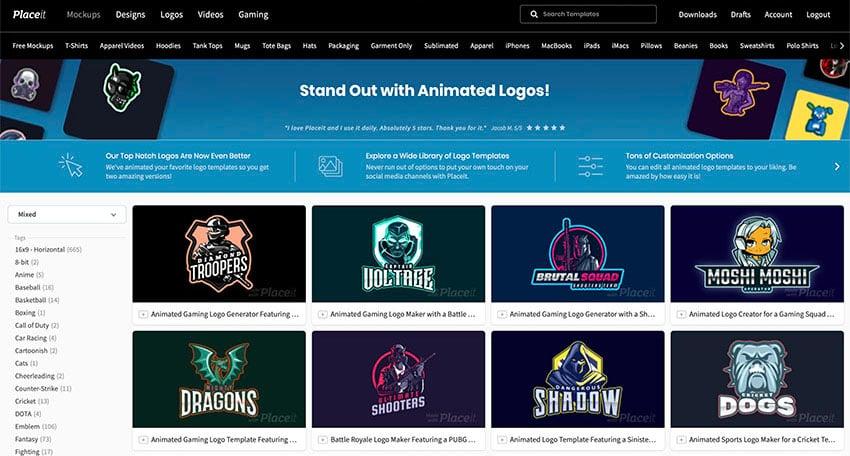 Best Animated Logos