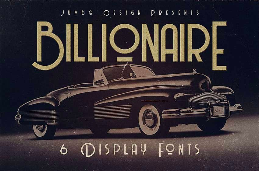 Billionaire - Best Vintage Font