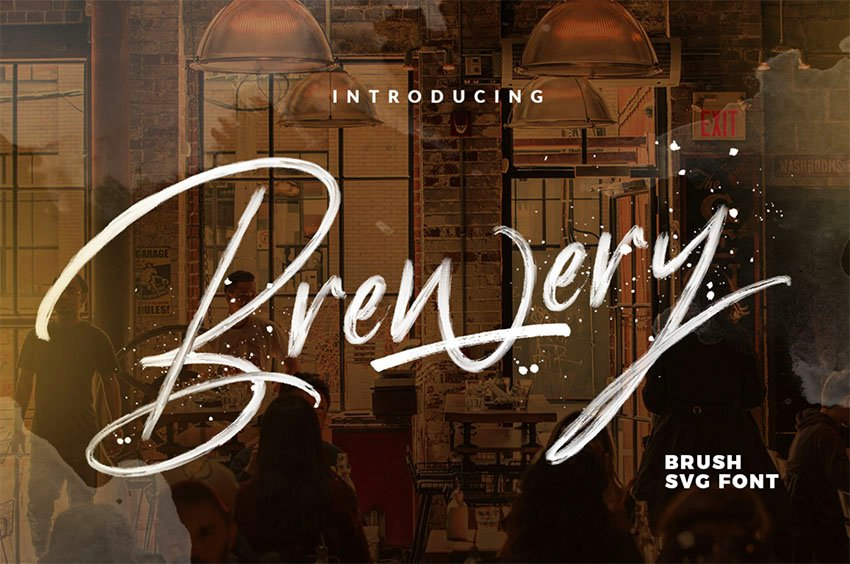 Brewery SVG FREE FONT