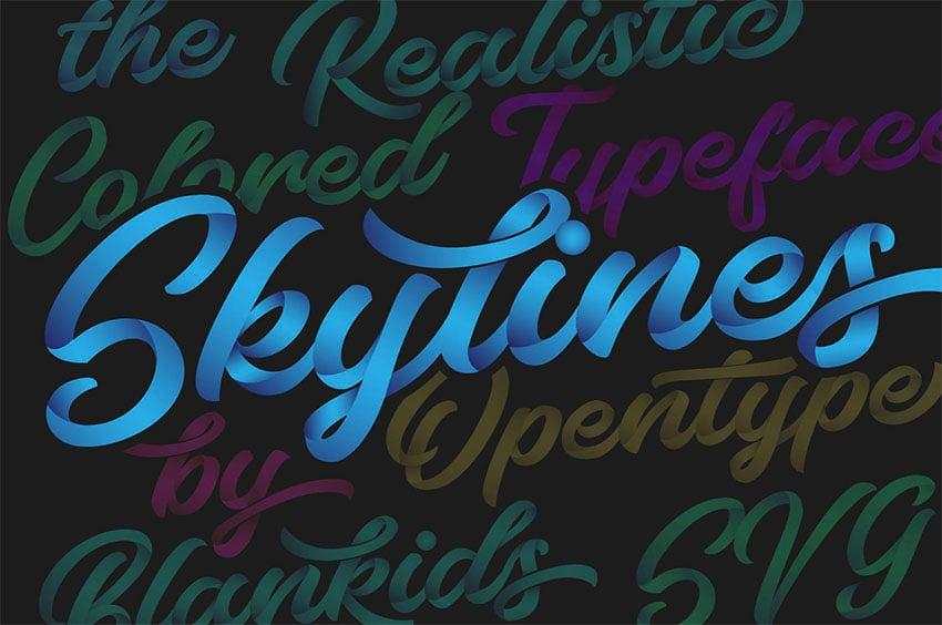 Bluesky SVG Font