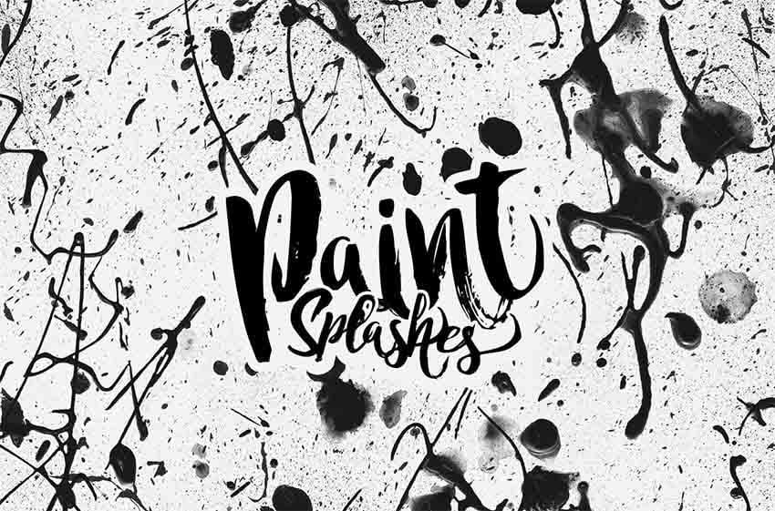Paint Splashes Brushes for Affinity Designer