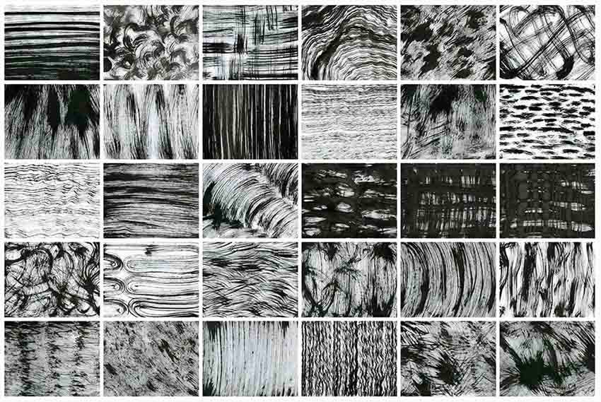 Chaotic Affinity Brushes
