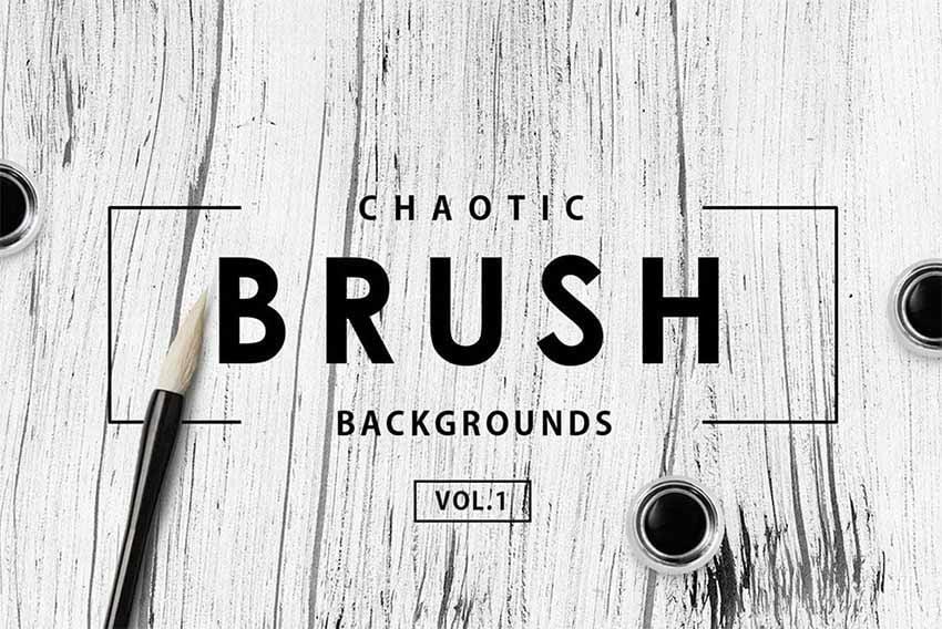 Chaotic Brush Affinity Designer Brushes