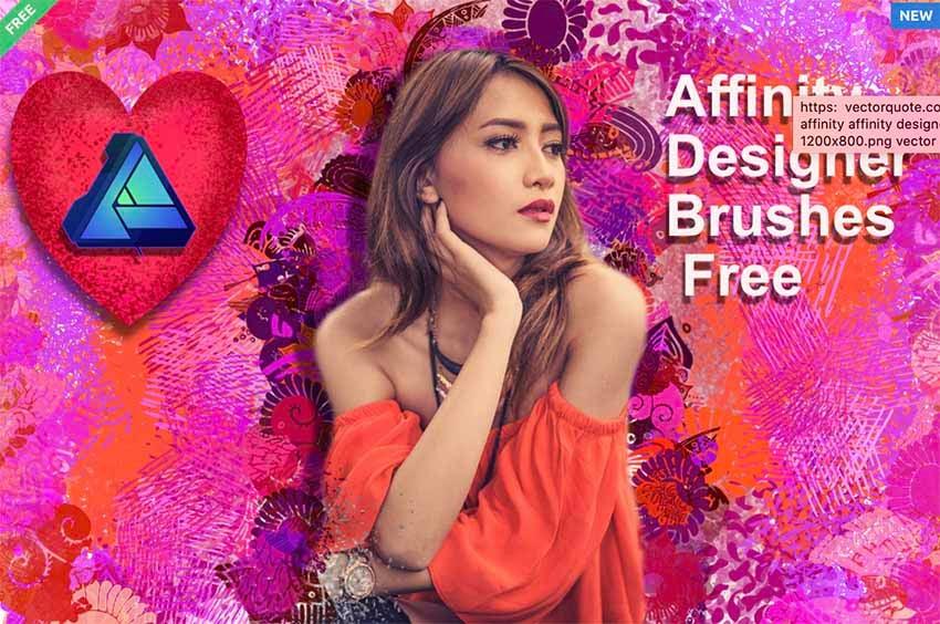 AFFINITY DESIGNER BRUSHES FREE