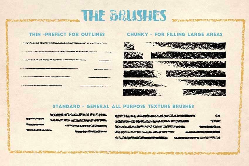 FREE Crayon Brushes for Affinity Designer