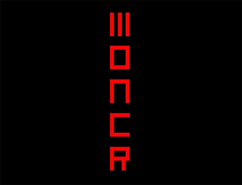 Free Moncr Display Font