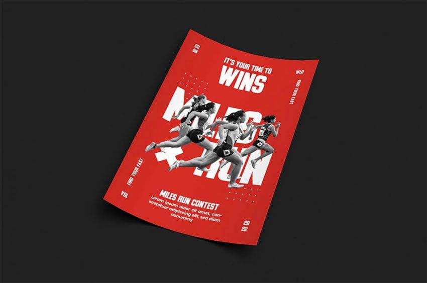 Aegeus Layered Photoshop Sports Templates