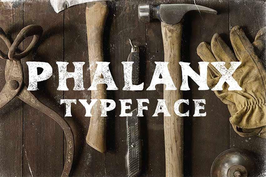 PHALANX - FREE FONT