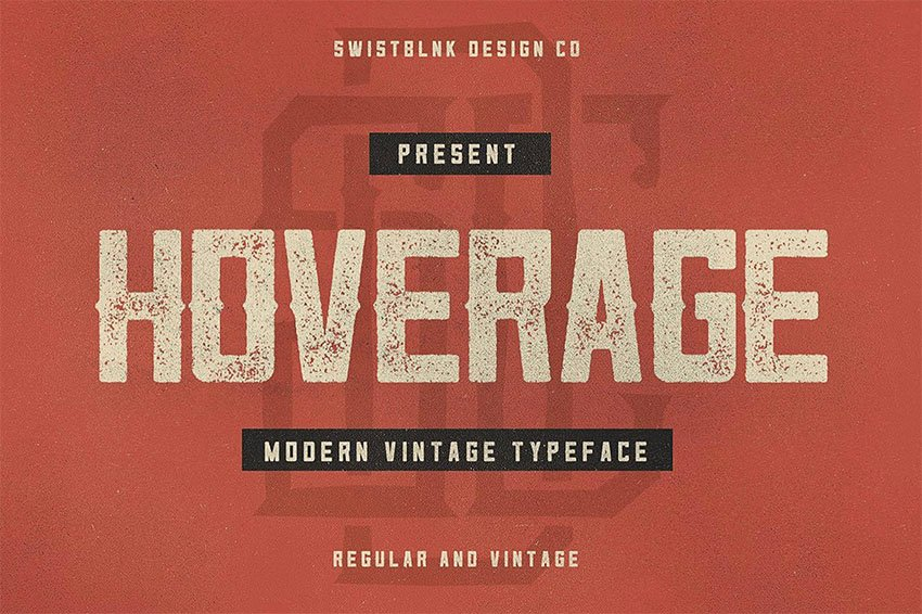 Hoverage Typeface