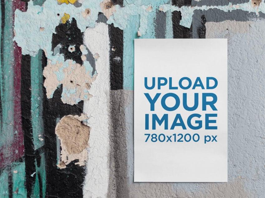 Urban Poster Mockup Template