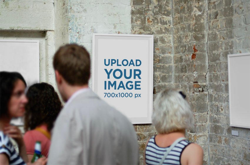 Print Poster Mockup